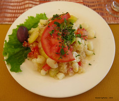 Quinoa & Corn salad - Tipika Peruvian Restaura…