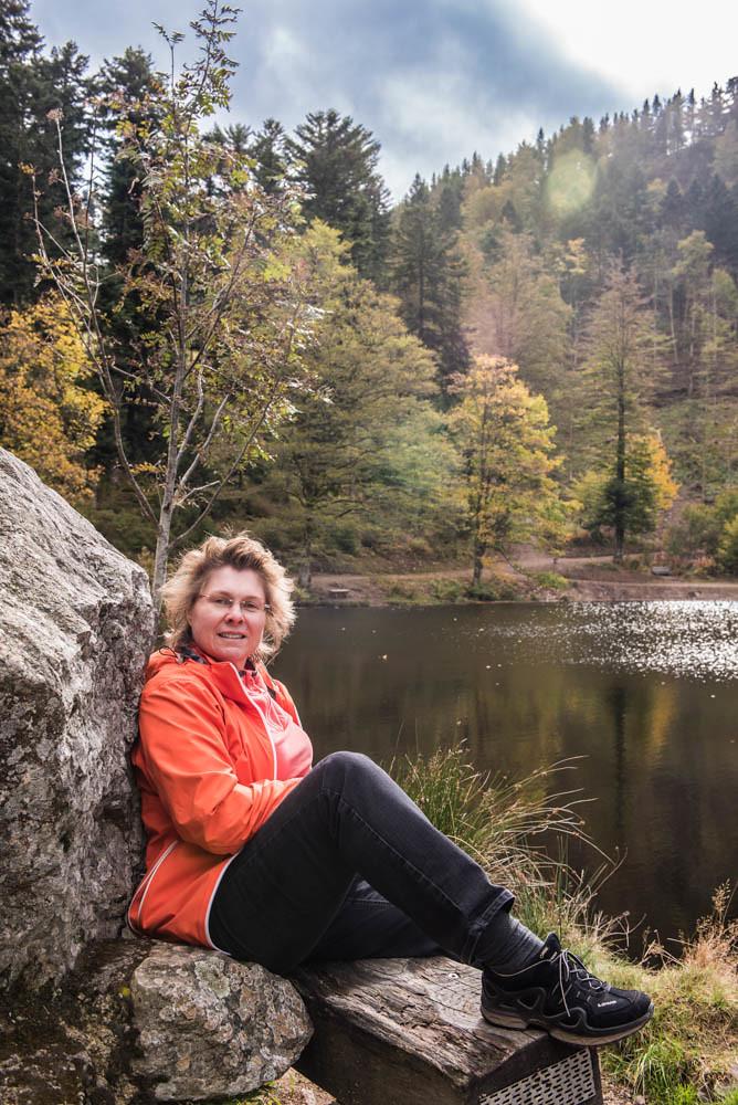 Karin am Nonnenmattweiher