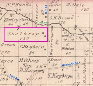 Samuel Lathrop farm