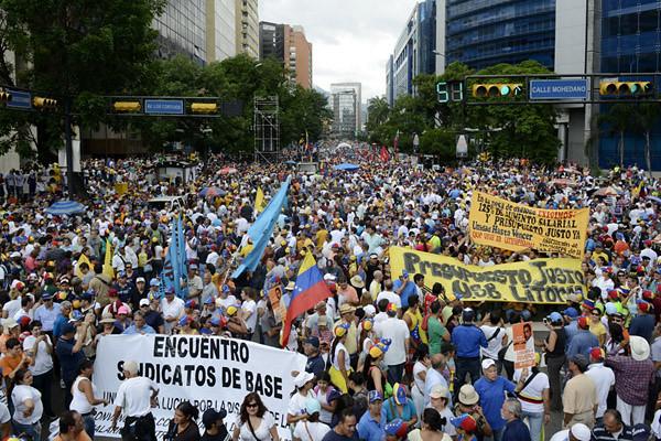 VENEZUELA-MAY DAY