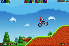 Mario na minicrossie