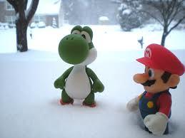 Mario w krainie lodu