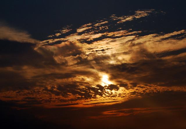 Clouds Afire