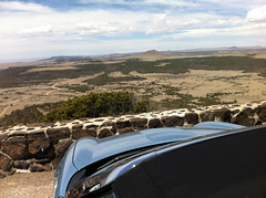 This car didn't climb Mt. Washington, but it did climb Capulin Volcano