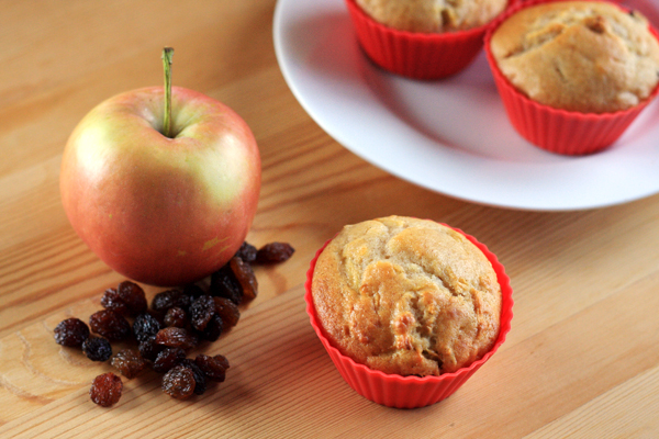 Apple and Sultana Muffins