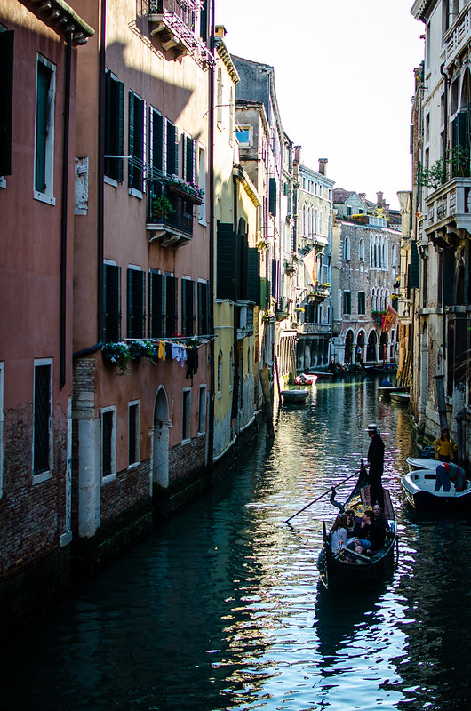The view around most corners in Venice.