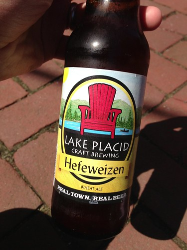 Lake Pacid Craft Brewing Hefeweizen