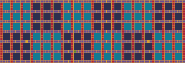 Downloadable pattern background in a bold oriental colorway