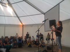 Yasmin Hafedh - textstrom Poetry Slam goes Stadtfest Wien