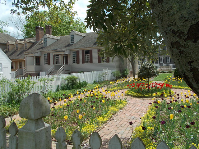 Colonial Williamsburg Gardens