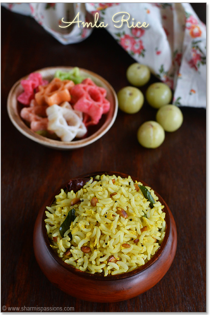 Amla Rice Recipe