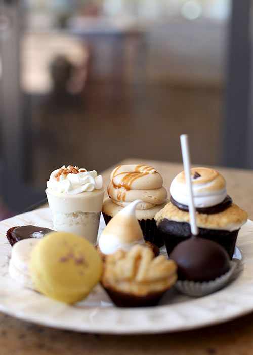 Sweet and Saucy Shop Mini Desserts