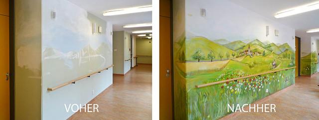 Projektbeispiel demenzstation art for care for Raumgestaltung altenheim