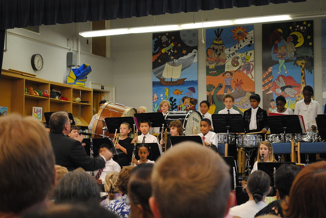Cole's band concert