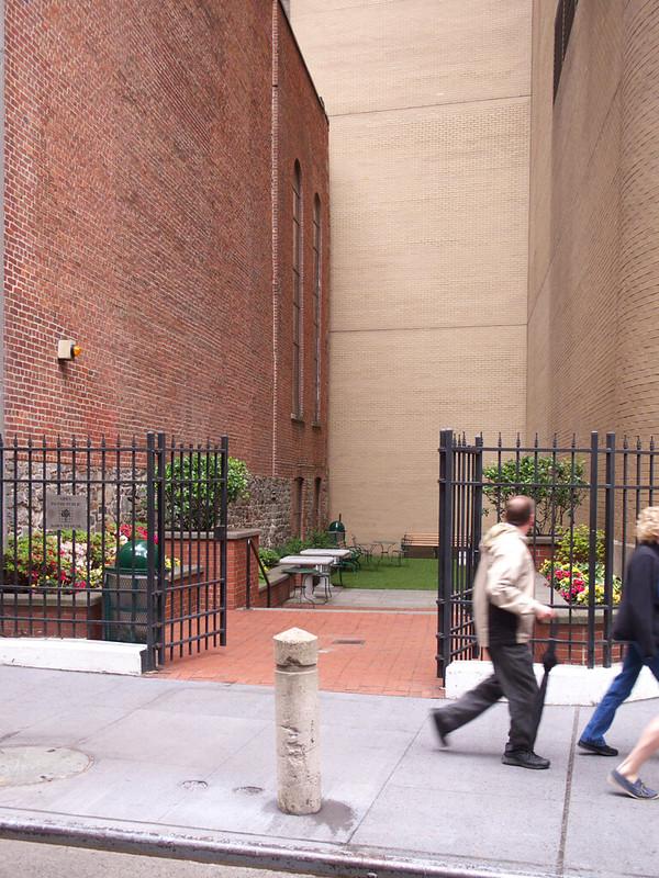 Narrow Public Space