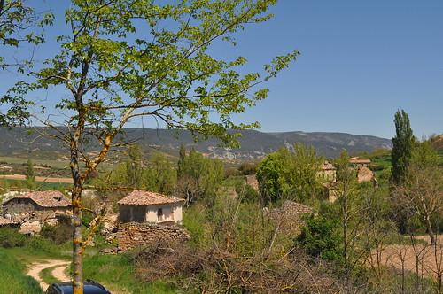 Bárcena de Bureba (Burgos). Pueblo abandonado y en ruinas