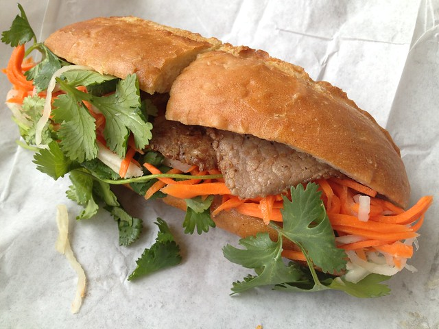 Beef banh mi - Little Saigon