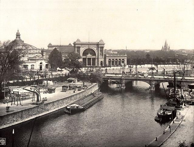 Вокзал Лертер Банхоф 1900