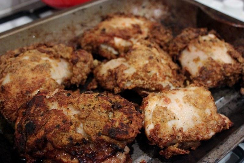 tom kerridge recipe foe chicken in a basket