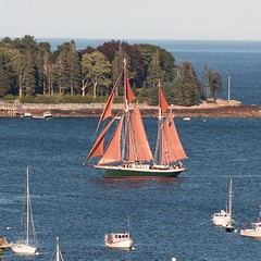 Good morning from my #Maine archives! This is the #windjammer Angelique based out of #Camden