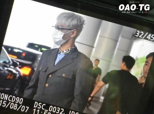 BIGBANG lArrival Shenzhen from Seoul 2015-08-07 021