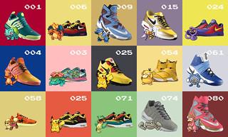 訂製鞋服務「NIKE iD」與《精靈寶可夢》聯名推出『寶可夢iD』