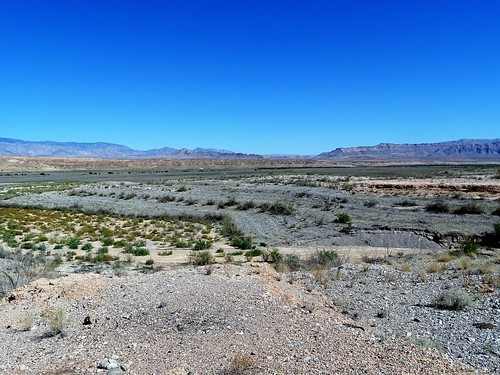Where Lake Mead was, and St. Thomas is now, Lake Mead National Recreation Area, Nevada