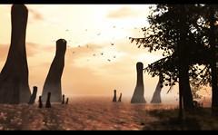 Sky Fallen Monoliths