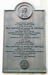 Photo of Jean-Baptiste Le Moyne de Bienville bronze plaque