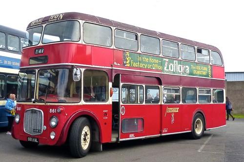 861 HAL 'Barton Transport' No. 861 Dennis Loline 2 / Northern Counties on 'Dennis Basford's railsroadsrunways.blogsot.co.uk'