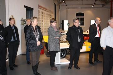 Neujahrsbegrüssung 2012 im Autobau