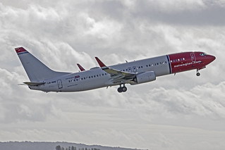 LN-NHE Boeing 737-8JP  Norwegian Air Shuttle