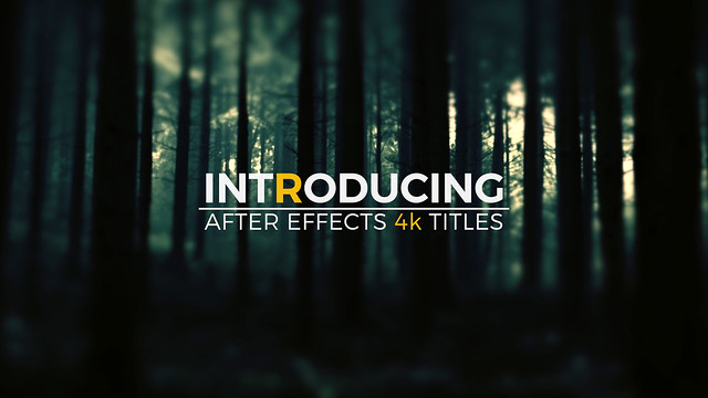 After Effects Template