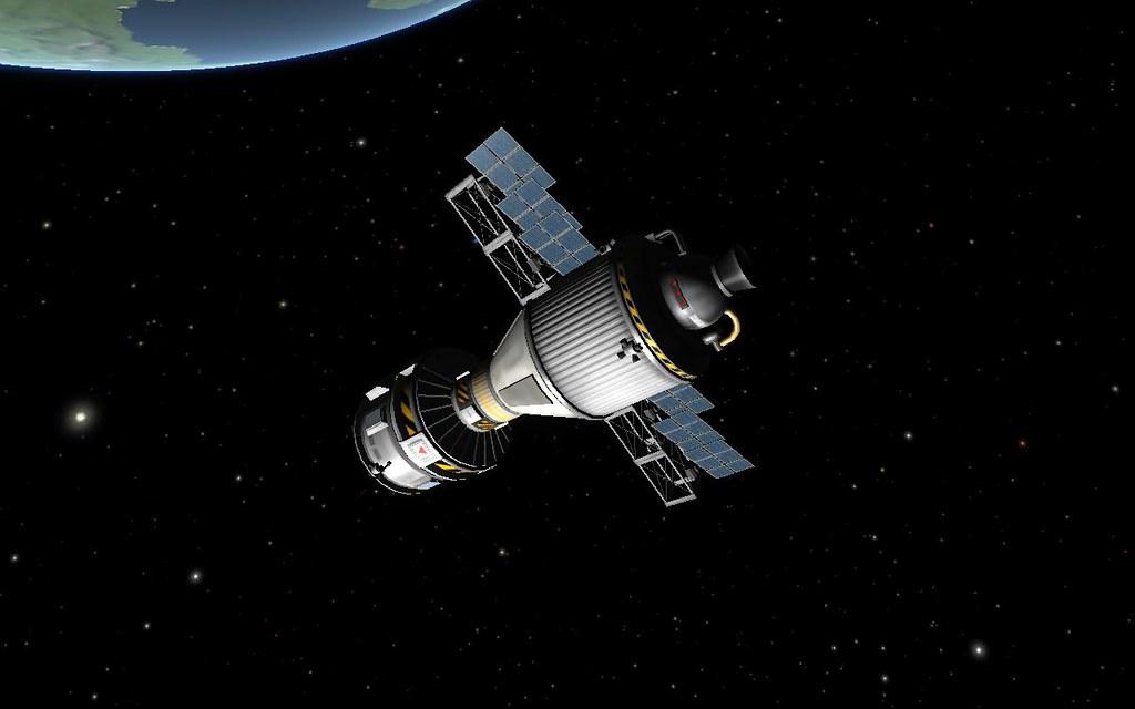 Apollo Soyuz Test Project The Spacecraft Exchange