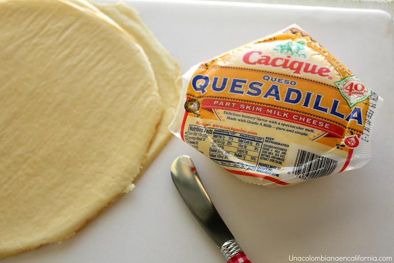 Crepes con queso