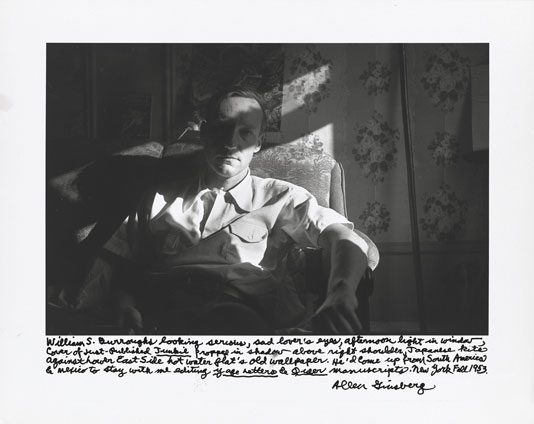 Burroughslookingserious Beat Memories: The Photographs of Allen Ginsberg