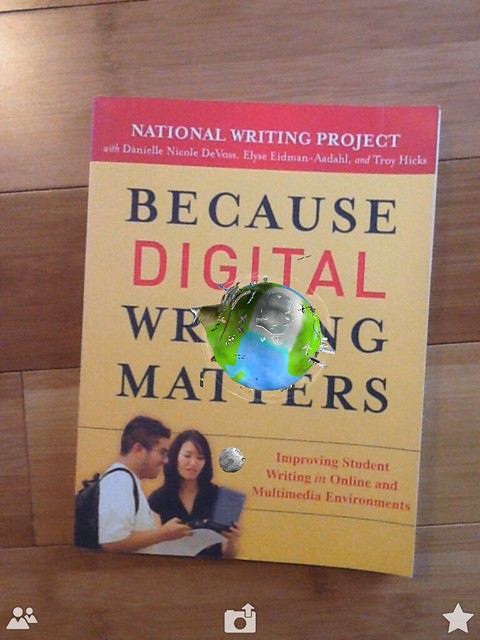 Augmented Reality: Digital Writing Cover