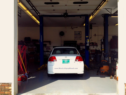 BLR-Mobile goes in the shop