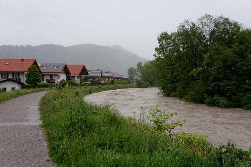 Hochwasser 2013 in Oberau