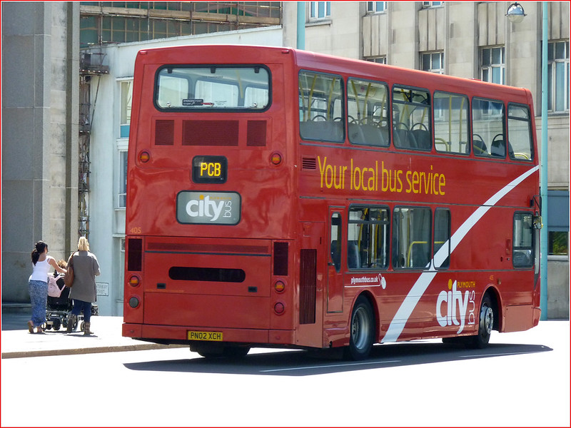 Plymouth Citybus 405 PN02XCH