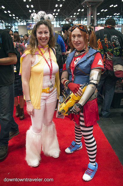 NY Comic Con Womens Costume Mechromancer Borderlands
