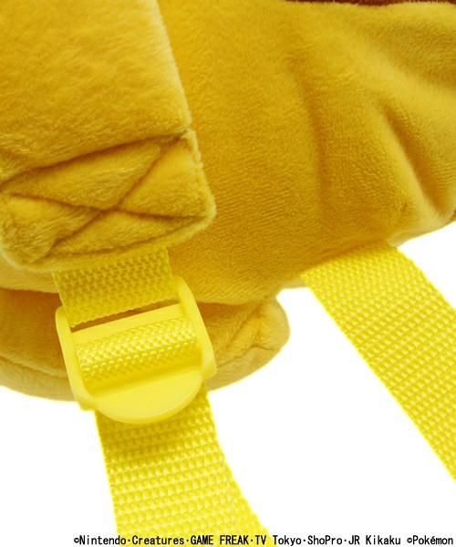 WEGOxPOKEMON聯名商品!超可愛的等身大「皮卡丘布偶背包」終於再販!