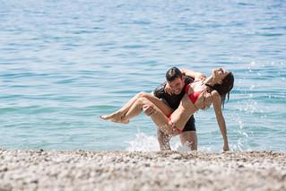 26 Le verità - Foto di scena - Francesco Montanari e Anna Safroncik