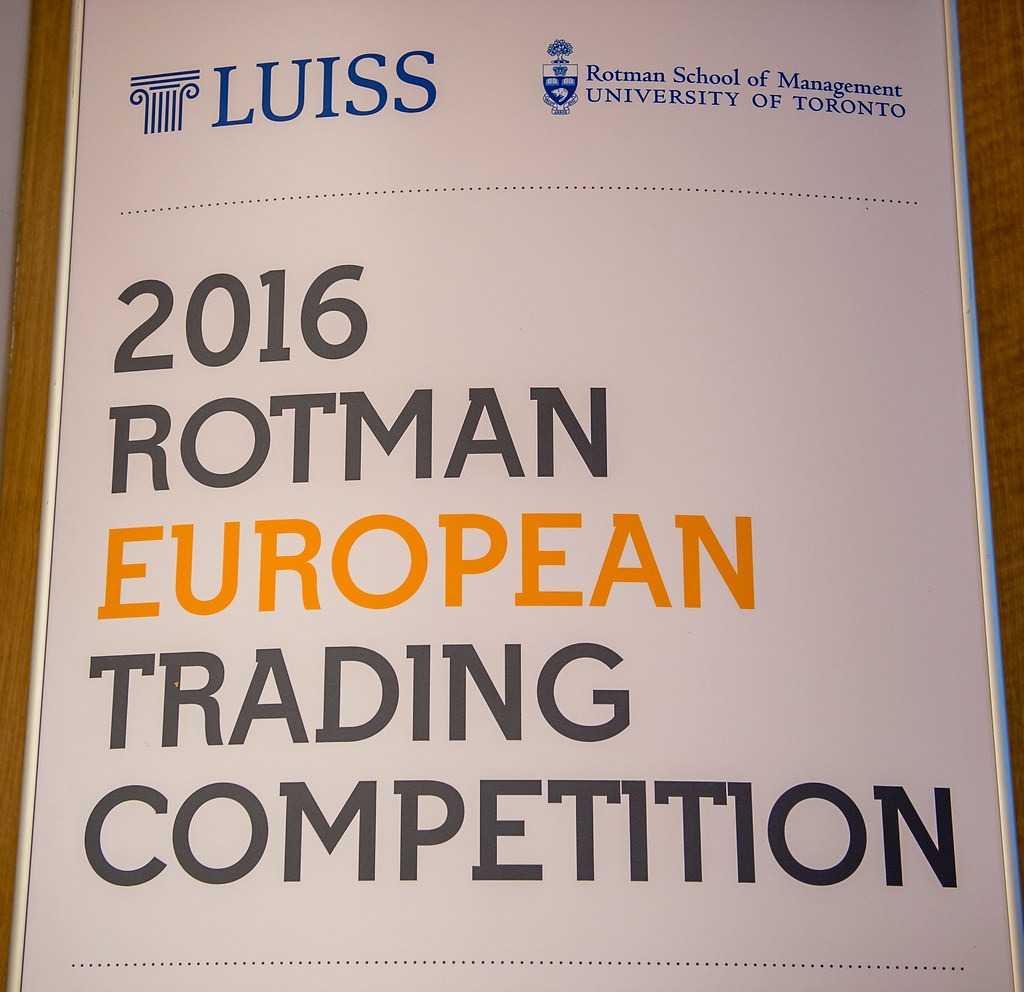 RETC 2016 (Rotman European Trading Competition)