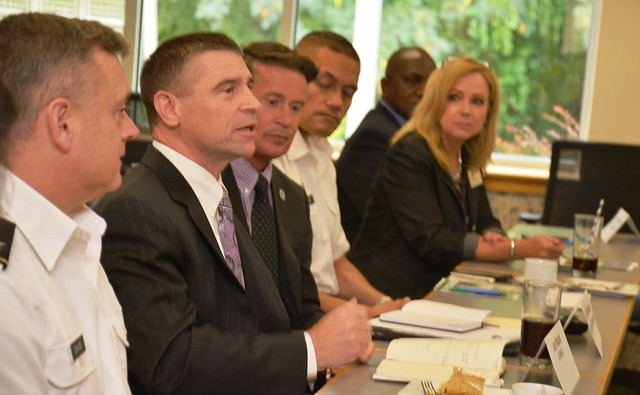 Leader luncheon enables ongoing dialogue-Sept. 30, 2016