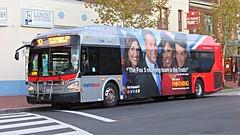 WMATA Metrobus 2011 New Flyer Xcelsior XDE40 #7148
