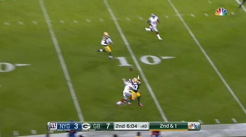 Davante touchdown Q2- catch