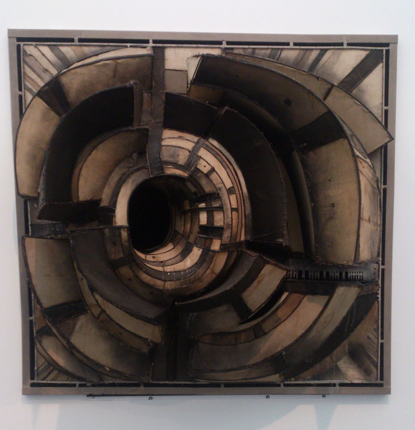 Destroy The Picture at MCA Chicago - Lee Bontecou