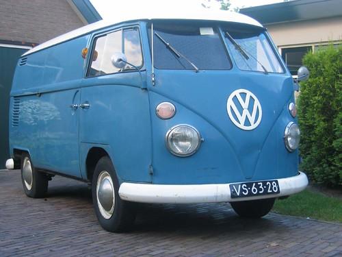 VS-63-28 Volkswagen Transporter bestelwagen 1966