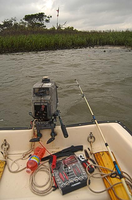 Fishing An Especially Beautiful Hammock